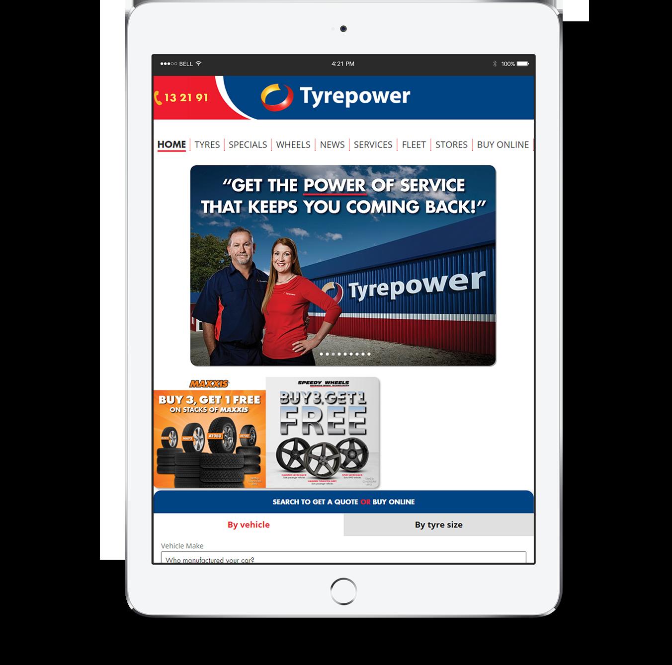Tyrepower_iPads